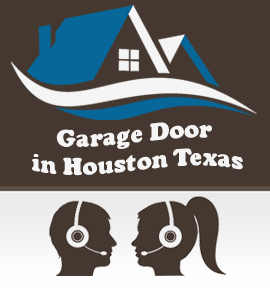 Garage Door In Houston Texas Logo